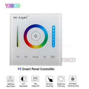 Image 4 - MiBOXER P1/P2/P3 Smart Panel Controller Dimming Led Dimmer RGB/RGBW/RGB+CCT Color Temperature CCT for Led Panel/Strip Light