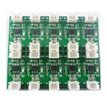 10x NIMHCRTA 1 2 3 Celle NiMH Batteria Ricaricabile Caricabatterie Dedicato 1.5V 3V 4.5V per 1.2V 2.4V 3.6V
