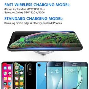 Image 4 - Ingebouwde Desktop Draadloze Oplader Desktop Meubilair Ingebed Qi Snelle Draadloze Oplader Opladen Voor Iphone 11 Samsung Xiaomi Mi9