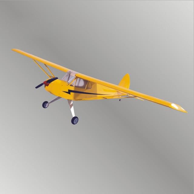 J3 電動リモートコントロール航空機すべての光 wood 固定翼のような航空機グライダー模型飛行機 8