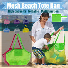 Backpack Storage-Bag Tote Outdoor Toys Collection-Toy Mesh Large Hot-Sale Kids Fashion
