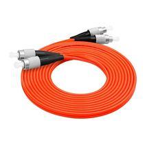 FC/UPC-FC/UPC fiber optic patch cord  Duplex Multimode cable FC-FC optical fibre jumper some research on optical fibre security