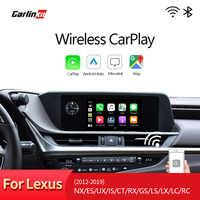 Drahtlose CarPlay, für Lexus NX ES UNS ist CT RX GS LS LX LC RC 2014-2019 Multimedia interface CarPlay & android auto Nachrüstsatz