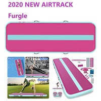 Furgle 7 Days Fastshipping Inflatable Airtrack Gym Rug Tumbling Air Track Gymnastics Mattress Gym Floor Mat Carpet for Home Use