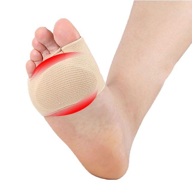 Avant-pied coussinet Gel manchon pied douloureux métatarsien tête soutien pieds soin coussin