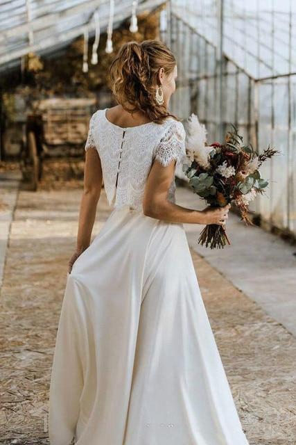 Robe de Mariée Style Bohème Vintage Gabrielle