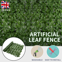 New Artificial Leaf Screening Hedge Wall Cover Fake Leaves Plants Wall Fake Panel Backdrop Decoration Home Garden Decor Supplies