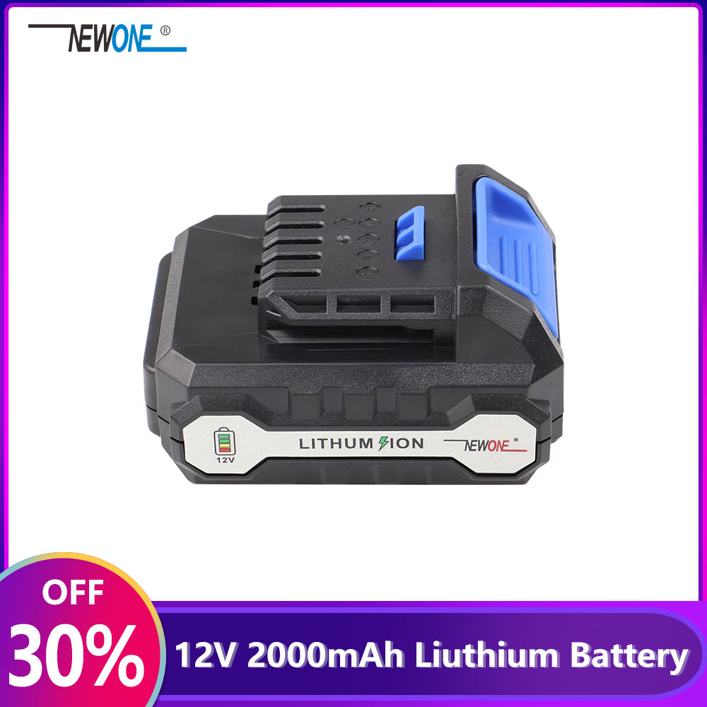 2000mAh Liuthium Battery Used For NEWONE And KEINSO 12V Lithium-Ion Machine Such As Angle Grinder,Saber Saw,Electric Drill Etc.