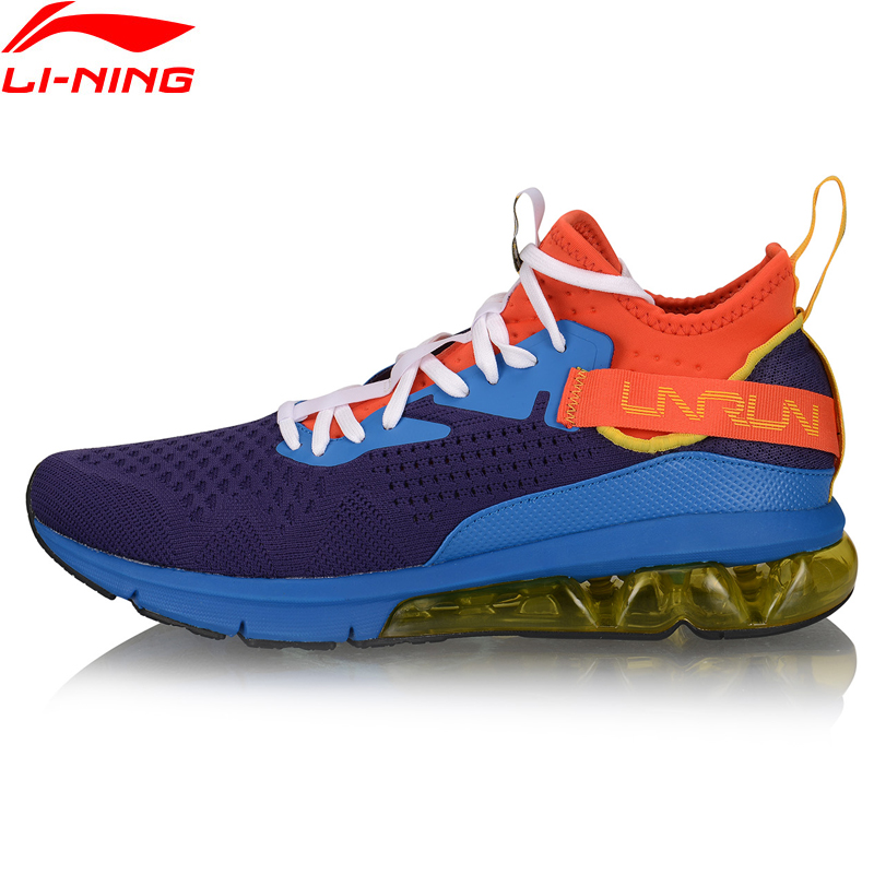 Li-Ning Men BUBBLE ARC Cushion Running Shoes Mono Yarn Breathable LiNing Li Ning ARC Sport Shoes Fitness Sneakers ARHP077 XYP954