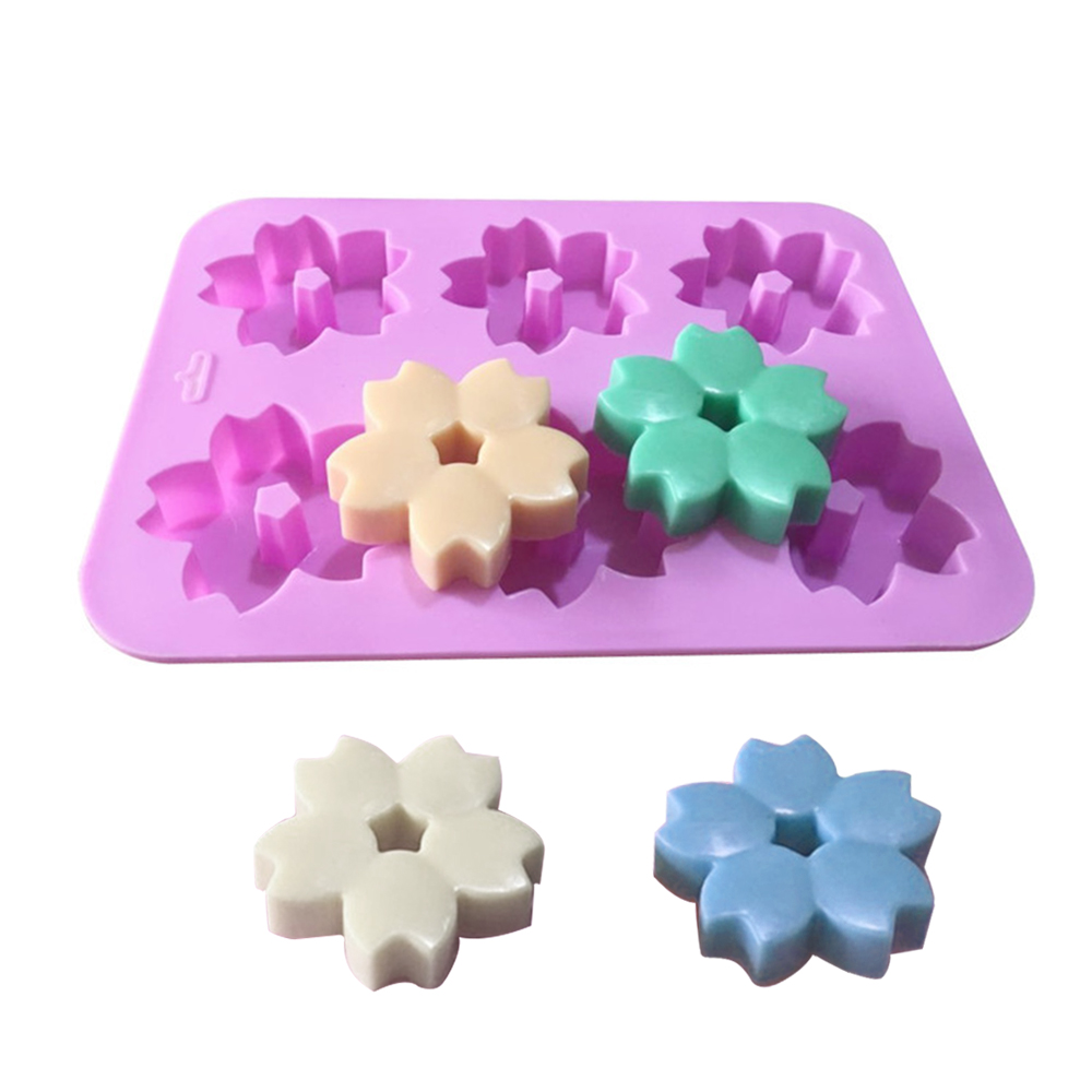 Flower Shape Bundt Cake Pan Bread Chocolate Cookie Bakeware Silicone Mold DIY SH