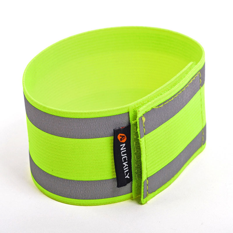 durable and practical Bike Bicycle Reflective Safety Pant Band Leg/Arm Strap Cycling Reflective Tape long service life