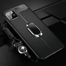 Caso para iPhone 12 por max de cuero de la PU funda de silicona funda para iPhone 11 por max de las mujeres CASO DE E1