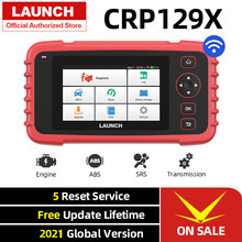 Launch CRP129X OBD2 Scanner Engine ABS SRS AT Diagnostic Tool Oil SAS EPB TPMS Reset Creader 129X OBDII Code Reader CRP129