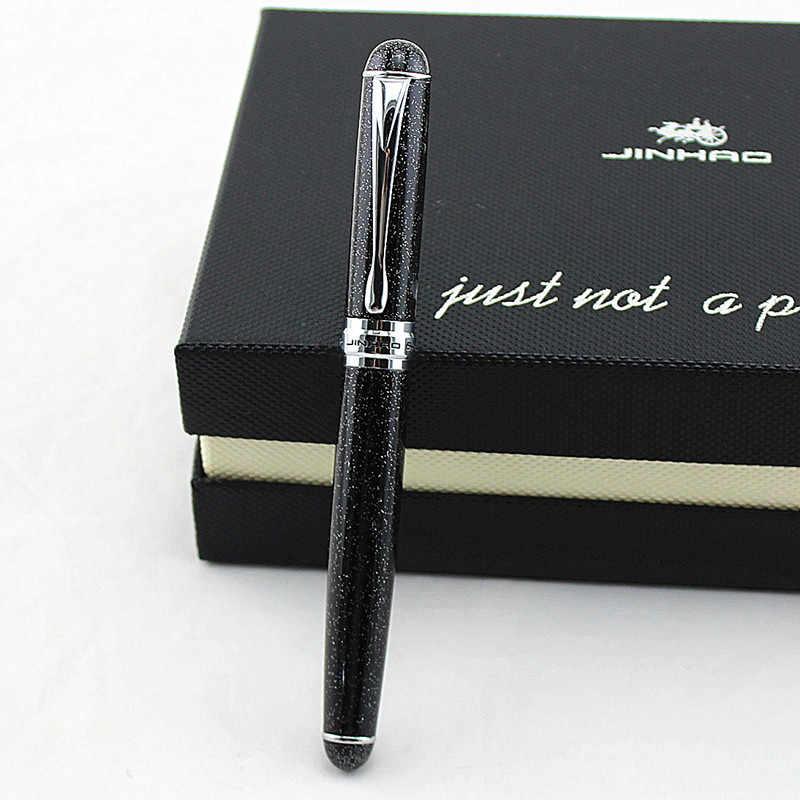 Jinhao x750 areias cintilantes largos nib caneta tinteiro frete grátis jinhao 750