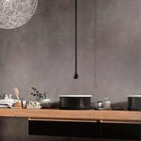 Water Drop Hang Ceiling Faucet Bathroom Basin & Bathtub Tap Wall Mounted Water Mixer Designer Hardware