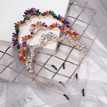 2019 Bling Sequined Headband Women Fashion Rhinestone Hear Wear Ladies Head Piece Hair Accessories Jewelry