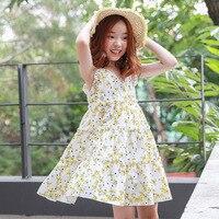 2018 New Baby Cotton Dress Girls Summer Dress Floral Basic Kids Toddler Slip Dress Children Cute Dress