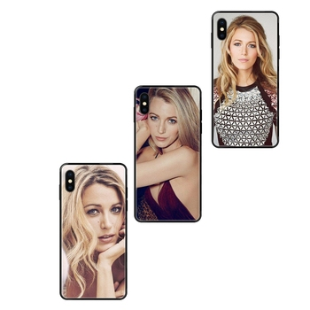 For Redmi Note 4 5 5A 6 7 8 8T 9 9S Pro Max Gossip Girl Blake Lively Black Soft TPU Phone Cover Case Vintage image