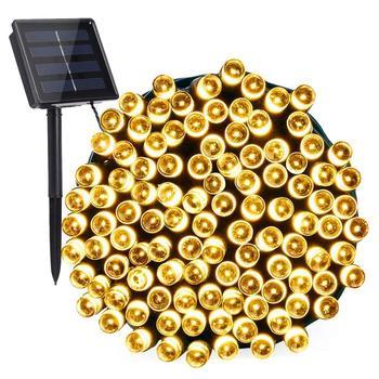 52m 500led Solar LED Light Waterproof Festival Decoration Light Garden String Light for XMAS/Party/Wedding Lighting Fairy Solar