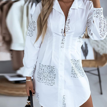 T Shirt Womens Long Sleeve Women V Neck Letter Printing T-Shirt Vacation Party Spring Tops Blouse Ladies