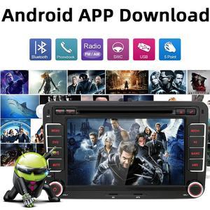 Image 5 - Bosion 2G + 32G 2Din Androidรถเครื่องเล่นดีวีดีAux GpsสเตอริโอสำหรับVolkswagen Skoda POLO GOLF 5 6 PASSAT CC TIGUAN TOURAN Fabia Caddy