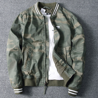 New Camouflage Jackets and Coats Spring Outdoor Streetwear Name Brand Army Style Cotton Jacket Coats Male Baseball Jackets B698