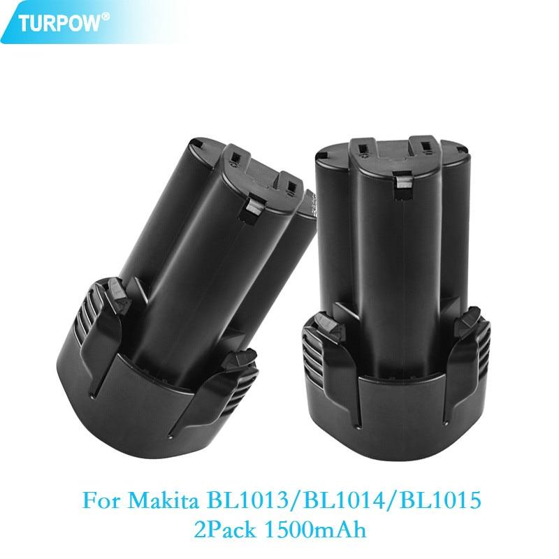 1500mAh BL1013 BL1014 battery charger for MAKITA DF030DWE DF030DWX DF330D