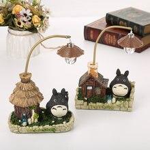 Studio Ghibli chihiro anime totoro figura del Giocattolo HA CONDOTTO LA Luce di Notte Del Giocattolo Anime Totoro figure Modello Giocattolo Del Capretto Del Regalo Casa Artigianato decorazione