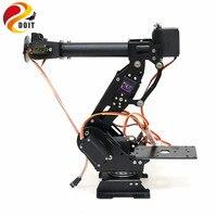 SZDOIT A Set 7 Axis Aluminum Alloy Metal Robotic Arm Kit 7DOF Manipulator for ABB Industrial Robot 7Pcs Metal Gear Servo DIY