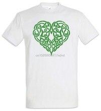 Herz T-shirt Kelten Symbol Zeichen Knoten Tribal Tattoo Kelten Keltisches Herz