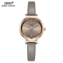 IBSO 8 MM Ultra-Thin Luxury Wrist Watches