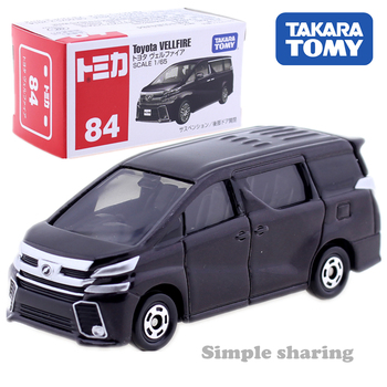 Takara Tomy Tomica No.84 Toyota Vellfire Scale 1/65 Car Hot Pop Kids Toys Motor Vehicle Diecast Metal Model New image