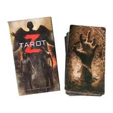 Juego de cartas de Tarot Z para Familia, juego de mesa para amigos, regalos de entretenimiento para fiesta de año nuevo, 78 Uds.
