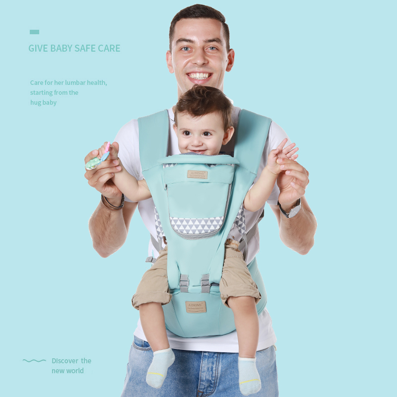 Baby Carrier Ergonomic Infant Kid Baby Hipseat Sling Front Facing Kangaroo Baby Wrap Carrier For Baby Travel 0-18 Months