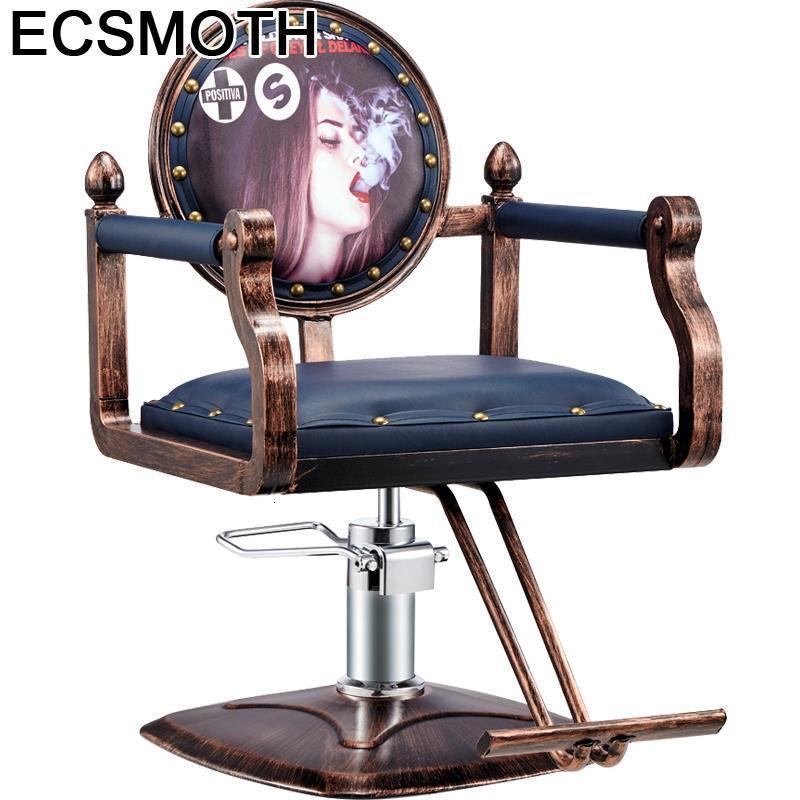 Barberia Chaise Silla Barbero Barbeiro Mueble De Stoelen Sedie Sessel Cabeleireiro Shop Cadeira Barbearia Salon Barber Chair