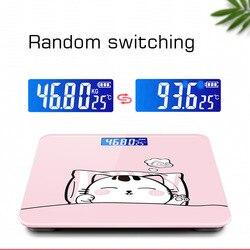 Wagi elektroniczne waga analityczna wagi domowe dla kobiet wagi elektroniczne ładowanie małej kompaktowej skali zdrowia dla dorosłych