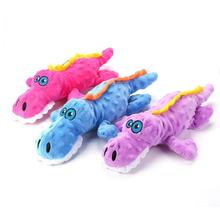 Dog Plush Toys Interesting Personality Lovely and Pleasant Funny Crocodile Shape Interactive Puppy Bite Resistance