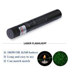 Лазерный перезаряжаемый зеленый звездный лазерный фонарик для