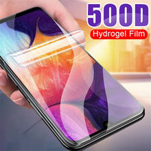 Filme para Samsung Galaxy A10 hidrogel A20 A30 A40 A50 A60 M10 M20 M30 Protetor de Tela de Proteção em Para uma Galáxia 10 20 30 40 50