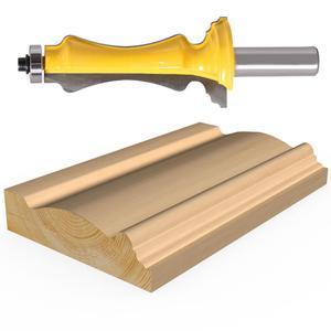 """Image 5 - 1 adet kapı ve pencere kasa yönlendirici Bit 1/2 """"12 mmShank hattı bıçak kapı bıçak ağaç İşleme kesici Tenon kesici için ağaç İşleme araçları"""