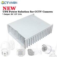 CTVMAN UPS Power สำหรับกล้องวงจรปิด DC 12V 12V กล้องวงจรปิดแหล่งจ่ายไฟ