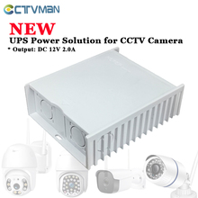 CTVMAN UPS  Power for CCTV Camera DC 12V Power Supply 12V power adapter CCTV Power Supply