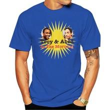 Klassische Mans Einzigartige Baumwolle Kurzen Ärmeln Oansatz T Shirt T-linie Gemeinschaft Troy Und Abed T-shirt