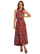 Весной и летом 2020 новое вечернее платье кулон молния печать длинная юбка платье элегантный лодыжки-длина платье