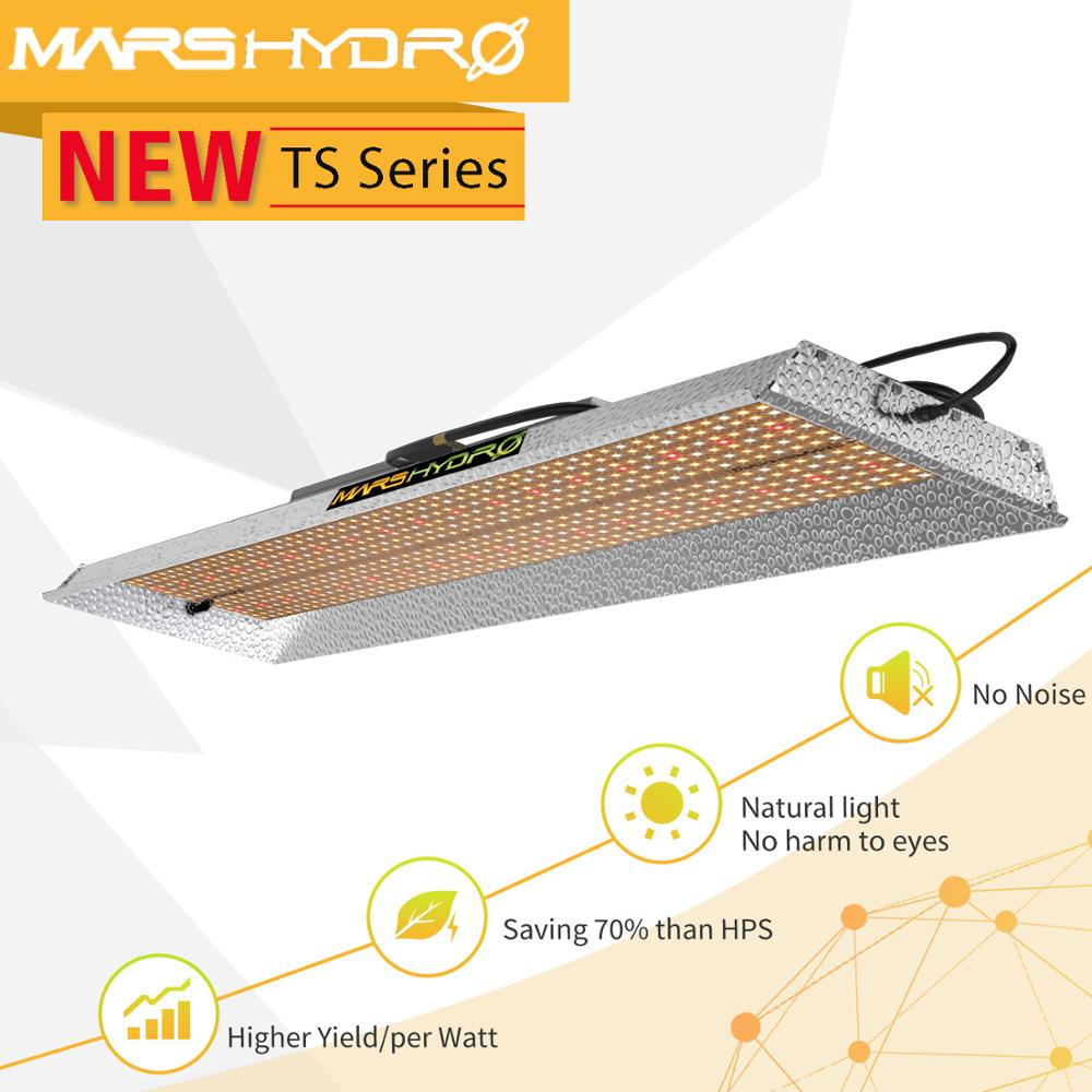 Mars Hydro TSL 2000w Led Grow Light Full Spectrum Zero Noise Indoor Plants Hydroponic System Led Growing Lights Tent Veg Blooms