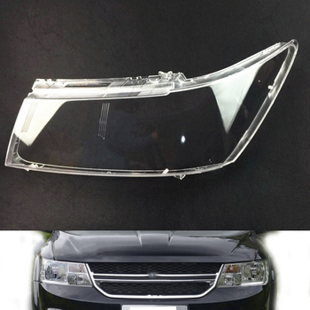 Car Headlamp Lens For Dodge Journey 2009 2010 2011 2012 2013 2014 2015  Car  Replacement  Lens Auto Shell Cover
