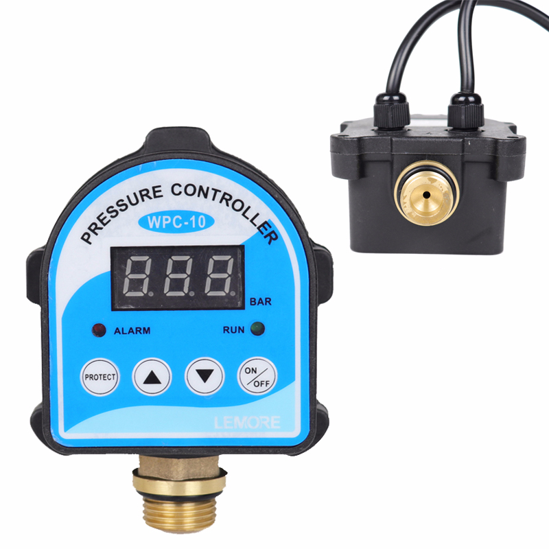 Digital Pressure Control Switch WPC-10,Digital Display Eletronic Pressure Controller For Water Pump With G1/2