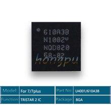 50 pçs/lote 610a3b/u4001 ic 36 pinos para iphone 7/7 plus/7 plus usb carregador/carregamento tristar 2 ic chip