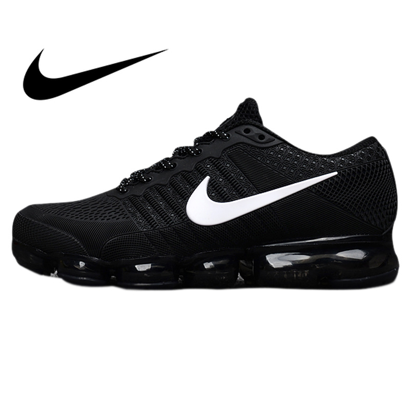 Original Authentic Nike Air Vapormax Flyknit Men's Running Shoes Sport Outdoor Sneakers Breathable Athletic Low Top 849558 image
