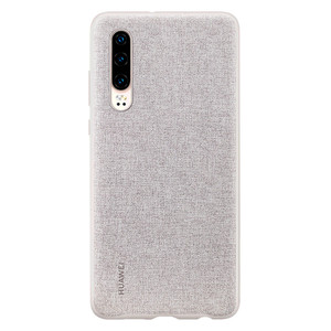 Image 5 - Huawei P30 Case From Huawei Official Original Leather Protecive Cover Carbon / Canvas Fiber Business Style Huawei P30 case